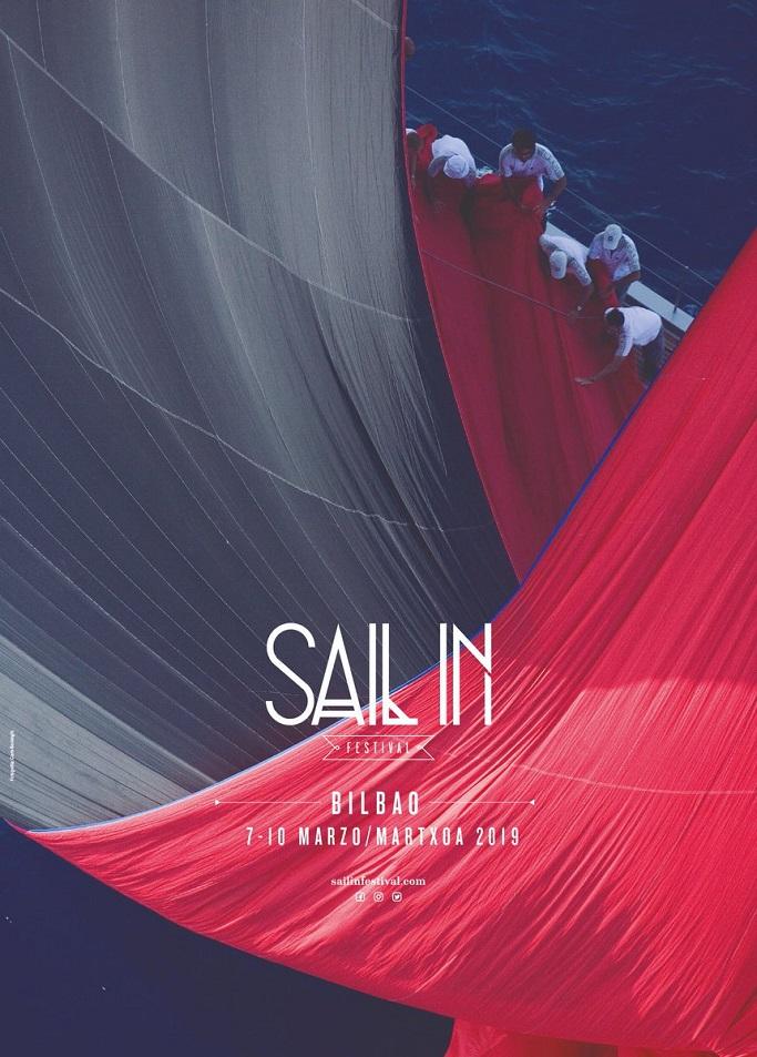 Cartel Sail in Festival organizado en el Itsasmuseum