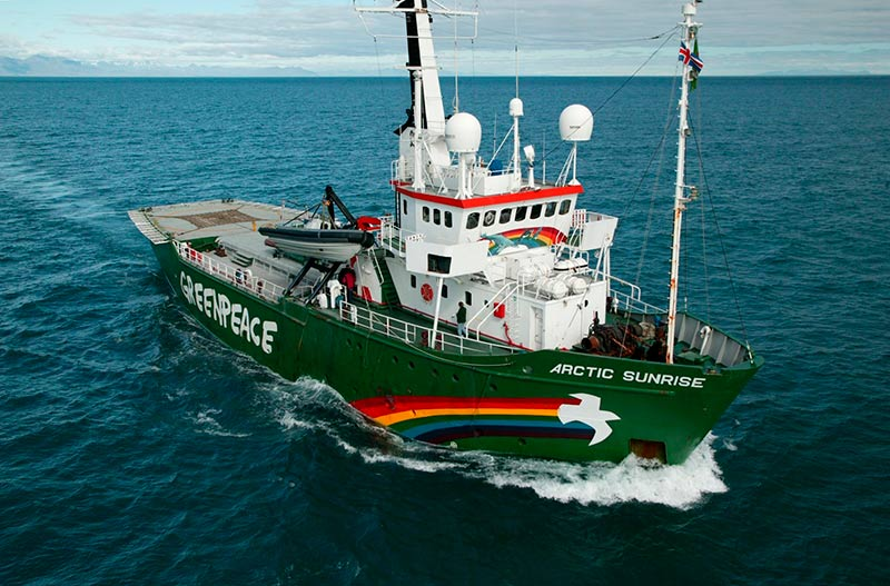 Artic Sunrise Greenpeace Itsasmuseum