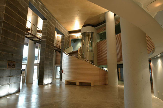 Atrio Espacio para Celebrar Eventos en Itsasmuseum