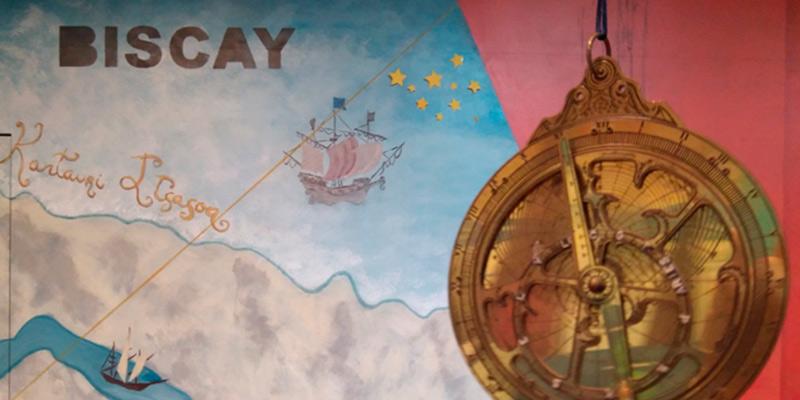 Fragmento de la Actividad Las Estrellas: el GPS de los Marineros para Educación Secundaria en Itsasmuseum