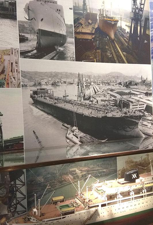Fragmento Exposición Industria Naval Itsasmuseum
