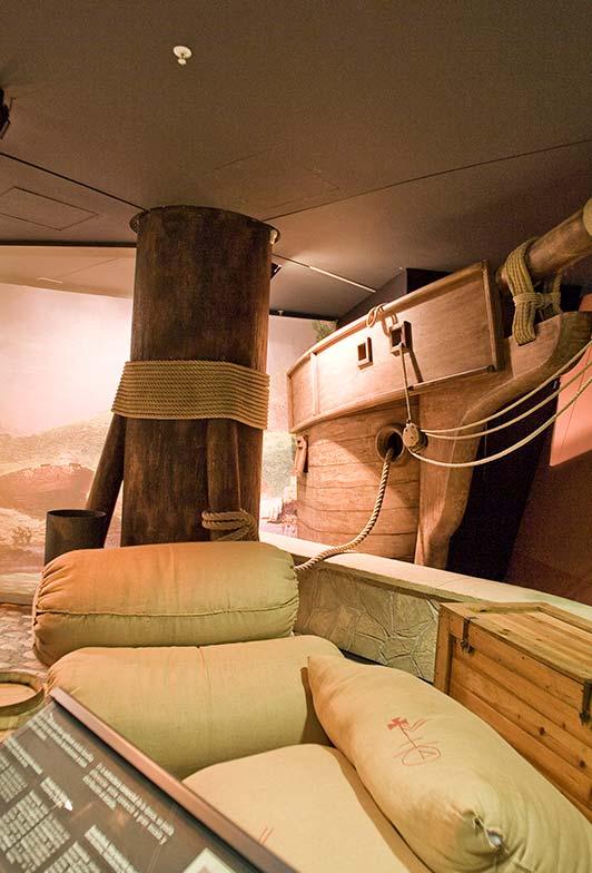 Fragmentos Exposición Puerto Comercial Itsasmuseum