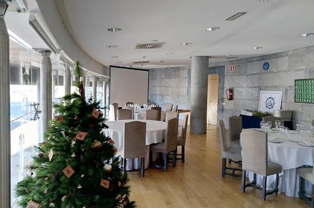 Comida de Navidad Celebrada en la Sala Mirador de Itsasmuseum